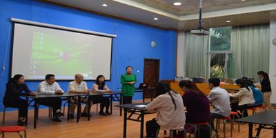 南宁博物馆讲解员赴广西壮族自治区区博物馆进行集中培训