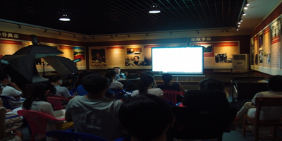 俞乐滨老师为我馆讲解员开展专题知识讲座